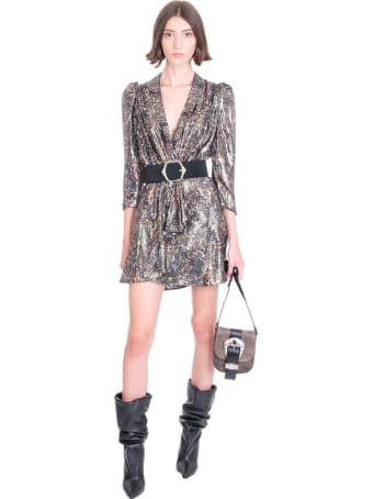 IRO Ricama Dress In Black Wool