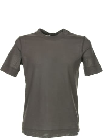 Paolo Pecora Dark Brown T-shirt