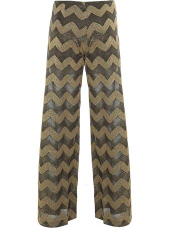 M Missoni Jersey Lurex Straight Pants