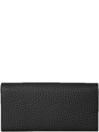 Orciani Micron Leather Envelope Wallet