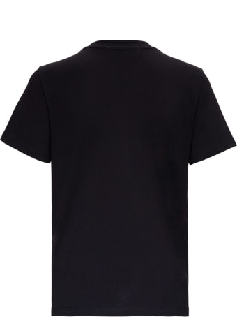 MSGM Jersey T-shirt With Logo Print