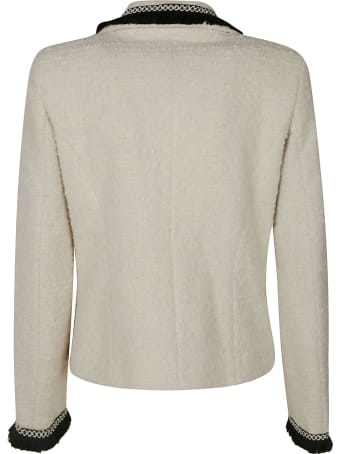 Be Blumarine Double-breasted Knitted Blazer