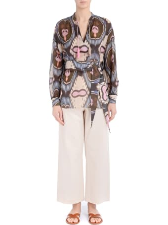 Bazar Deluxe Shirt With Multicoloured Print