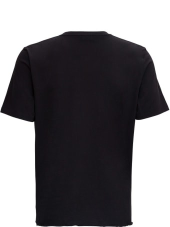 Saint Laurent T-shirt In Jersey With Sunset Print