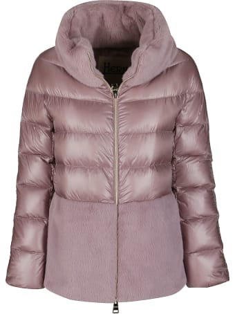 Herno Dust Pink Down Jacket