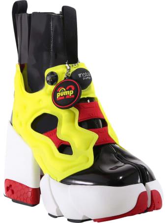 Maison Margiela Tabi Instapump Fury Hi Ankle Boots