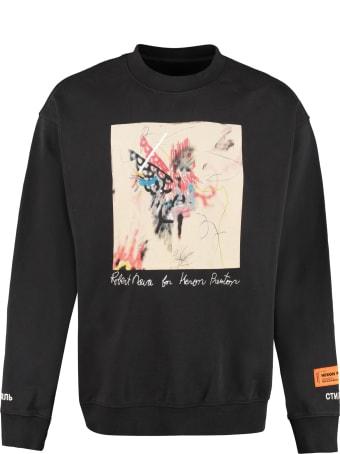 HERON PRESTON Heron Preston X Robert Nava - Printed Cotton T-shirt