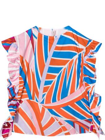 Emilio Pucci Multicolored Teen Blouse