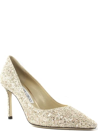Jimmy Choo Rose Glitter Pumps
