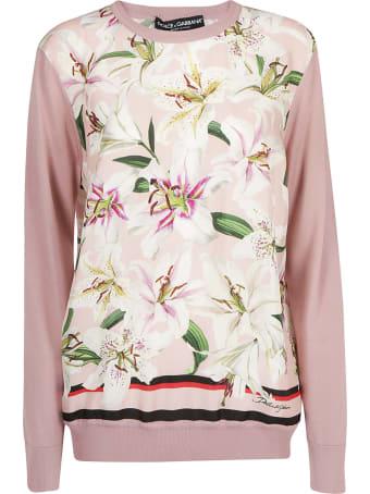 Dolce & Gabbana Silk Pullover