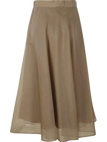 MSGM Straight Waist Skirt