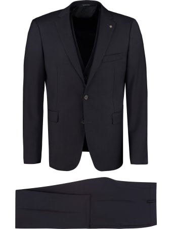 Tagliatore Three-piece Wool Suit