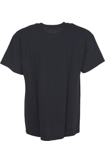 Telfar Black T-shirt With Logo