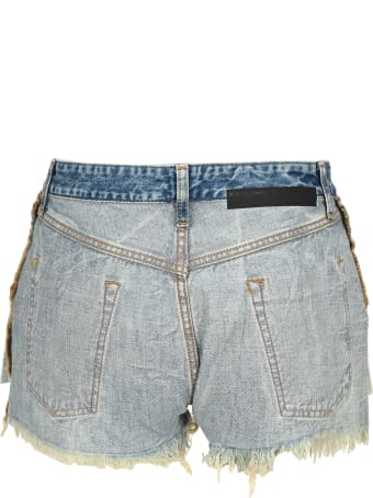 Ben Taverniti Unravel Project Unravel Reverse Laceup Shorts