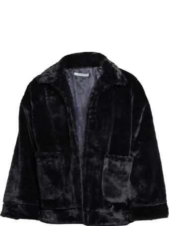 Charlie Luciano panda unisex artificial fur jacket