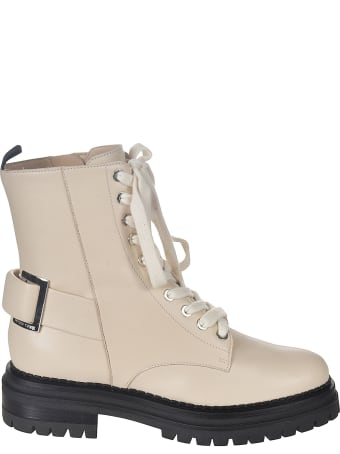 Sergio Rossi Hi-top Lace-up Boots