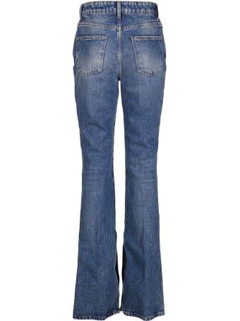 The Attico Light Blue Cotton Vitto Jeans
