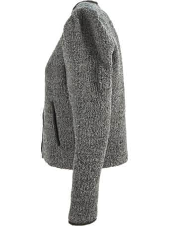 Isabel Marant Grey Virgin Wool Zingy Jacket