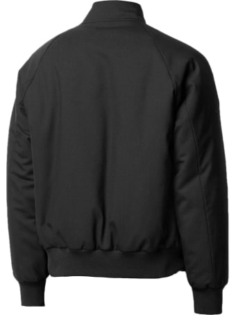 Maison Margiela Black Virgin Wool Bomber Jacket