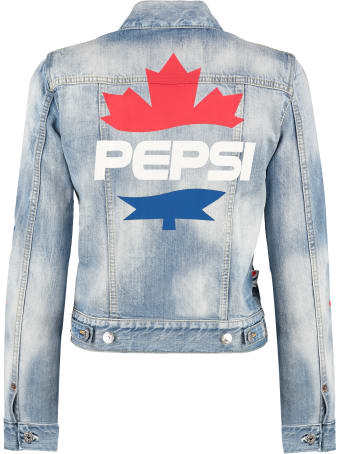 Dsquared2 Denim Jacket - Dsquared2 X Pepsi