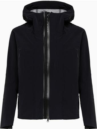 Descente Jacket Damqgc39u Solid Color Black