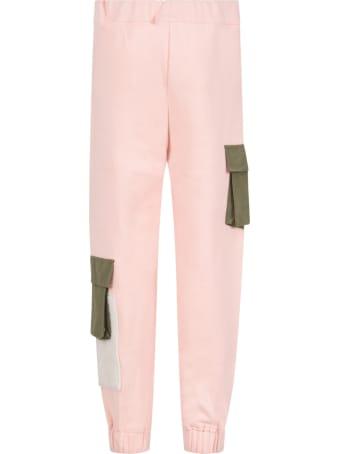 Owa Yurika Pink ''iori'' Sweatpants For Girl