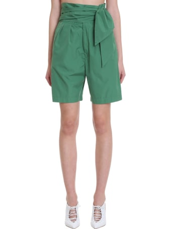 Mauro Grifoni Shorts In Green Cotton
