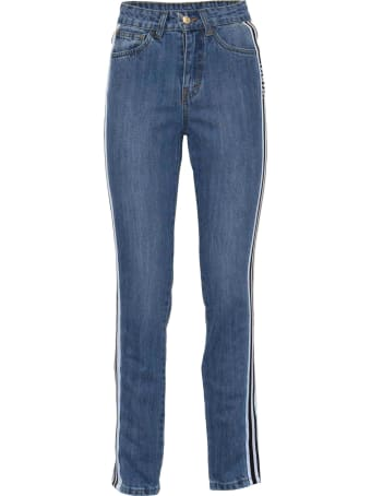 GCDS Side Stripe Jeans