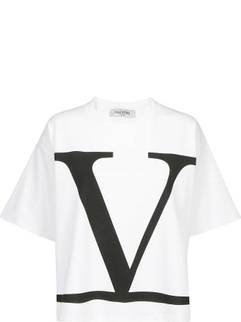 Valentino V Logo T-shirt