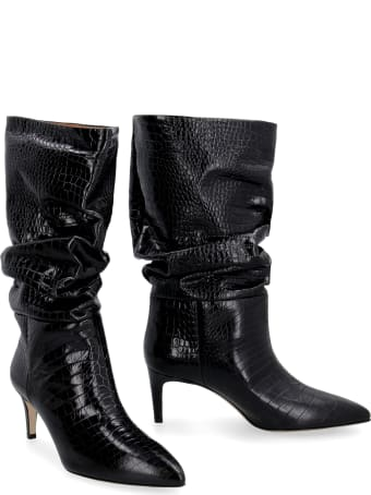 Paris Texas Leather Pointy-toe Boots