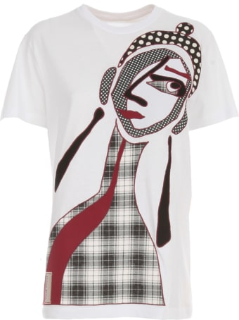 Antonio Marras Crew Neck 3/4s T-shirt