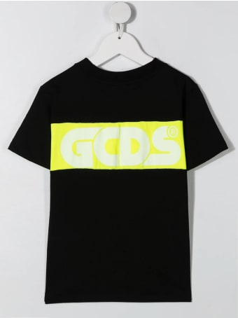 GCDS Mini Colour-block Logo T-shirt