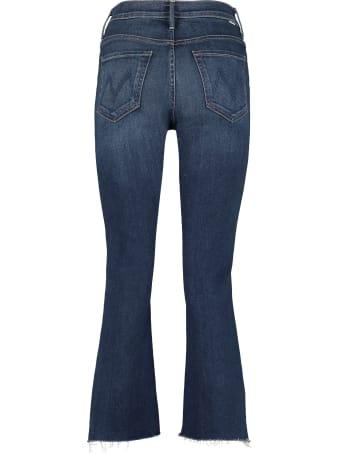 Mother Insider Crop Step Fray 5-pocket Jeans