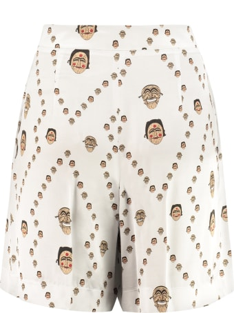Kirin Printed Wide Leg Shorts