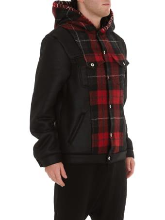 MJB - Marc Jacques Burton Tartan Hooded Jacket