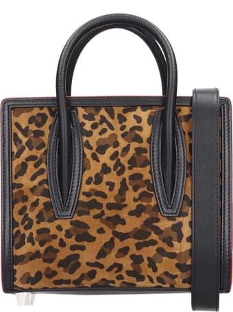 Christian Louboutin Paloma S Mini Shoulder Bag In Animalier Suede