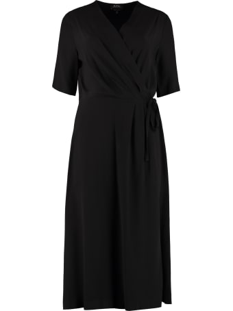 A.P.C. Mathilda Crêpe Dress