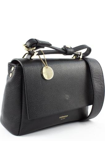Avenue 67 Elettraxs Black Leather Bag