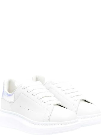 Alexander McQueen White Sneakers Kids