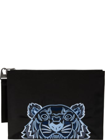 Kenzo Tiger Document Holder Clutch