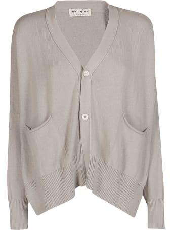 Ma'ry'ya Grey Cotton Cardigan