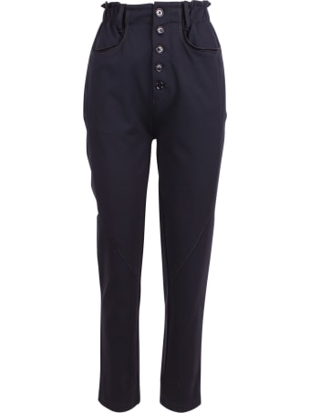 High 'stance' Rayon Trousers