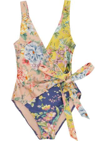 Zimmermann Zinnia One-piece Swimsuit