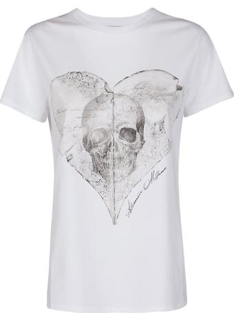 Alexander McQueen White Cotton T-shirt