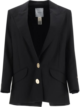 Patou Wool Jacket With Jewel Buttons