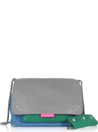 Jerome Dreyfuss Lulu M Leather Shoulder Bag