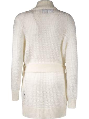 Balmain Belt-tie Knitted Cardigan