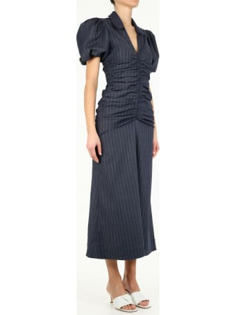 Ganni Stretch Stripe Dress
