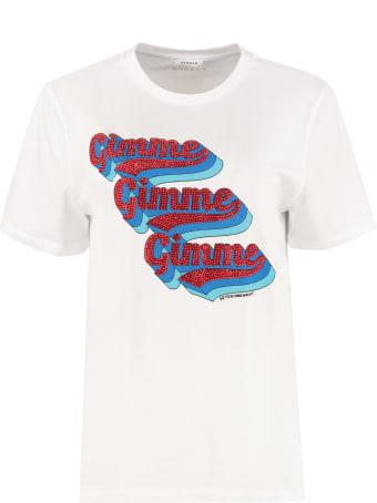 Parosh Printed Cotton T-shirt