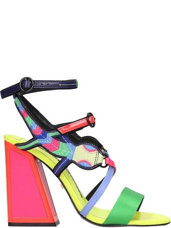 Kat Maconie Molly Sandals In Multicolor Tech/synthetic